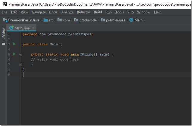 DebuterEnProgrammationJava_etape1