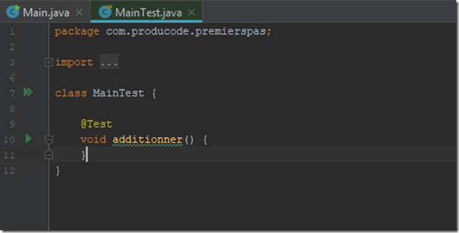 TesterSonCodeEnJava_etape8