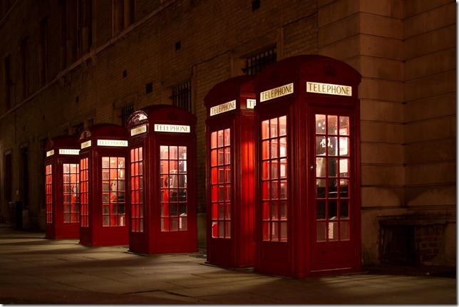 Telephones anglais