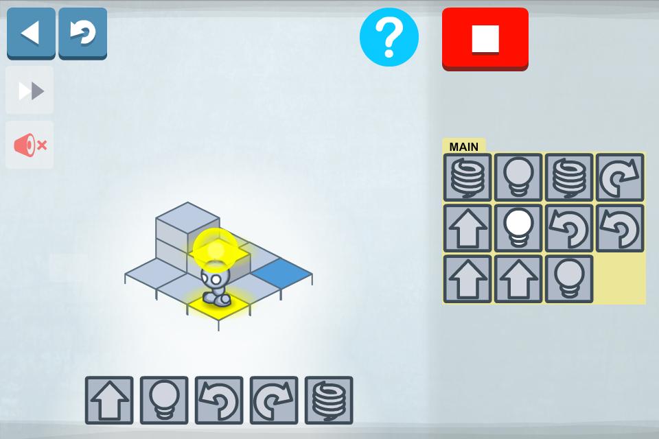 Lightbot pour debuter la programmation en s amusant